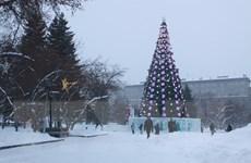 Người dân Siberia đón đợt lạnh sâu trước thềm Năm mới 2020