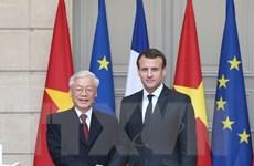 [Photo] Đưa quan hệ Việt Nam-Pháp phát triển lên tầm cao mới