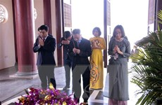 Míttinh kỷ niệm 130 năm ngày sinh Chủ tịch Hồ Chí Minh tại Lào