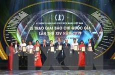 Giải Báo chí Quốc gia: Ghi nhận công sức, tâm huyết người làm báo