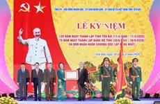 Kỷ niệm trọng thể 120 năm Ngày thành lập tỉnh Yên Bái