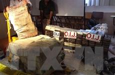 Costa Rica thu giữ hơn 3 tấn cocain trên vùng biển Caribe