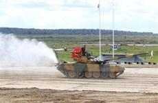 Đội tuyển xe tăng Việt Nam vào thi đấu bán kết Army Games 2020