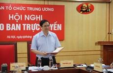 Ngành tổ chức xây dựng Đảng chuẩn bị nghiêm túc nhân sự Đại hội Đảng