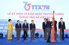 Thủ tướng Nguyễn Xuân Phúc dự Lễ kỷ niệm 75 năm Ngày thành lập TTXVN
