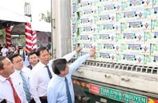 Bến Tre xuất khẩu lô trái cây đầu tiên sang thị trường EU