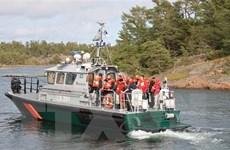 Phà chở 300 hành khách mắc kẹt trên biển Baltic