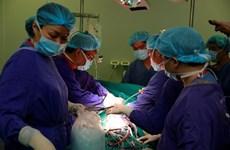 Vòng tránh thai 31 năm rơi khỏi vị trí, xuyên bàng quang bệnh nhân