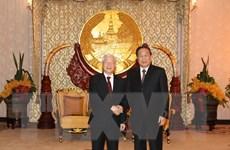 Quan hệ Việt Nam-Lào ngày càng được củng cố, phát triển