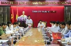 Đoàn kiểm tra của Bộ Chính trị làm việc tại Quảng Ninh