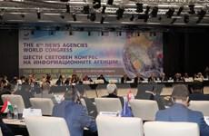 Phó Tổng Giám đốc TTXVN dự Đại hội Các hãng thông tấn Toàn Thế giới