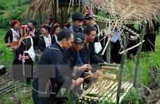 [Photo] Điện Biên: Lễ cầu mùa của đồng bào dân tộc Khơ Mú