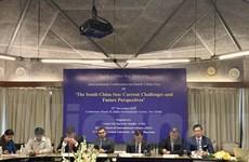 Hội thảo về Biển Đông: Các học giả kêu gọi tuân thủ luật pháp quốc tế