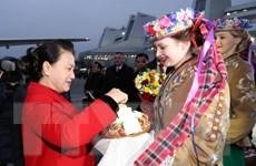 Chủ tịch Quốc hội bắt đầu thăm chính thức Cộng hòa Belarus
