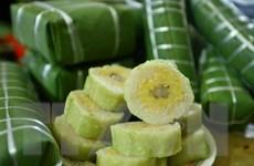 [Photo] Bánh chưng Lỗ Khê sẵn sàng phục vụ Tết Canh Tý 2020