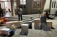 Liên tiếp bắt giữ 2 vụ buôn lậu, thu giữ hơn 6.500 bao thuốc lá
