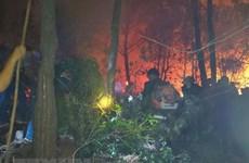 Quảng Ninh: Kịp thời dập tắt đám cháy rừng trong đêm