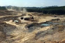 Xác minh sai phạm tại mỏ đất khai thác ngoài phạm vi, độ sâu cho phép