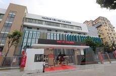 Hà Nội gắn biển 2 công trình trường tiểu học cấp thành phố