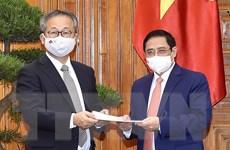 Thủ tướng Phạm Minh Chính tiếp Đại sứ Nhật Bản Yamada Takio