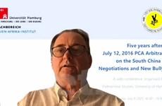Học giả quốc tế đề cao UNCLOS và phán quyết của PCA về Biển Đông