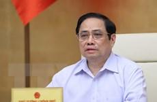 [Photo] Thủ tướng chủ trì họp Chính phủ chuyên đề xây dựng pháp luật