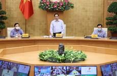 Thủ tướng họp với các xã, phường một số địa phương đang giãn cách
