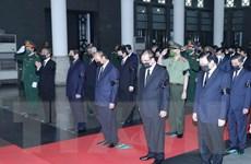 Hình ảnh Lễ viếng và truy điệu Đại tướng Phùng Quang Thanh