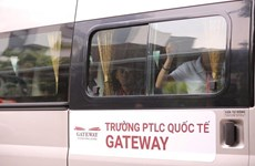 Các trường ở Hà Nội siết chặt quy trình đưa đón học sinh bằng xe buýt