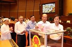 Quốc hội miễn nhiệm Bộ trưởng Y tế và Chủ nhiệm Ủy ban Pháp luật