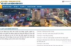 Khai trương trang tin điện tử hướng dẫn thực thi Bộ luật Lao động