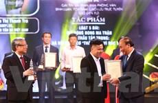 VietnamPlus giành giải A Báo chí Quốc gia với loạt bài về rác thải