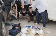 Hà Nội phá đường dây mua bán ma túy liên tỉnh, bắt giữ 6 đối tượng