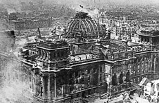 Những hình ảnh khó quên trong cuộc chiến cuối chống phát xít Đức