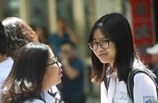 Đề môn Toán dễ, thí sinh Hà Nội cười rạng rỡ kết thúc kỳ thi lớp 10