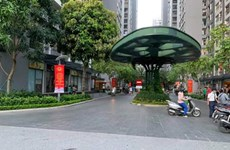 Phong tỏa Park 9 Times City vì phát hiện ca nghi nhiễm COVID-19