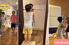 Giải trí, rèn luyện thân thể cho trẻ khi bước vào năm học mới tại nhà