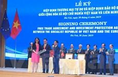 Ký kết EVFTA-EVIPA: Thúc đẩy mạnh mẽ phát triển kinh tế Việt Nam-EU
