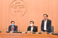 Hà Nội yêu cầu xử nghiêm tổ chức, cá nhân lơ là phòng, chống COVID-19