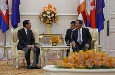 'Quan hệ Campuchia-Việt Nam ngày càng phát triển sâu rộng'