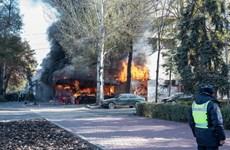 Cháy nổ liên tiếp ở thủ đô Kyrgyzstan, nhiều người thương vong