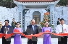 Thủ tướng dự Lễ khánh thành Đền thờ Liệt sỹ tại Quảng Nam