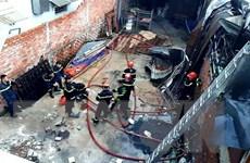 Thành phố Hồ Chí Minh: Hỏa hoạn thiêu rụi nhiều căn nhà trọ ở quận 9