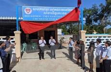 Khánh thành nhà sinh hoạt cộng đồng Hội Khmer-Việt Nam tỉnh Koh Kong