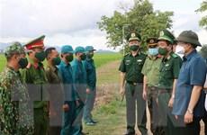 Kiểm soát chặt chẽ tuyến biên giới tỉnh An Giang để chống dịch