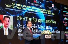 'Việt Nam phải khẳng định chủ quyền và sự thịnh vượng trên mạng'