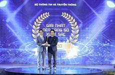 Toàn cảnh lễ trao giải thưởng sản phẩm công nghệ số Make in Vietnam