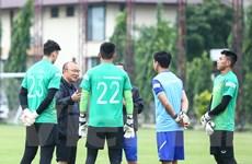 """HLV Park Hang-seo và """"bài toán khó"""" với vị trí thủ môn tuyển Việt Nam"""