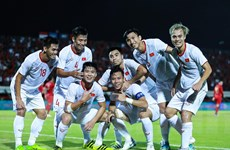 Xem trận Việt Nam-UAE qua 5 màn hình lớn trên phố đi bộ Nguyễn Huệ