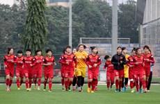 Đội tuyển nữ Việt Nam gấp rút tìm 'quân xanh' chuẩn bị cho Asian Cup